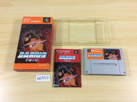 ua7717 Darius Twin BOXED SNES Super Famicom Japan