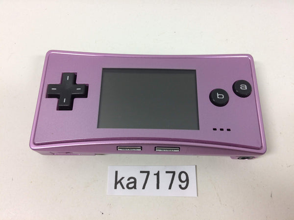 ka7179 Not Working GameBoy Micro Purple Game Boy Console Japan