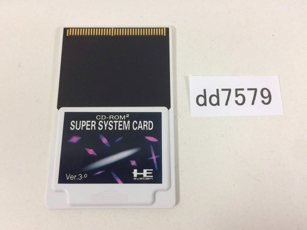 dd7579 Super System Card PC Engine Japan