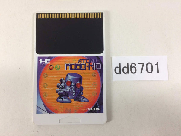 dd6701 Atomic Robo-Kid Special PC Engine Japan