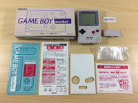 wa1003 GameBoy Pocket Gray Grey BOXED Game Boy Console Japan