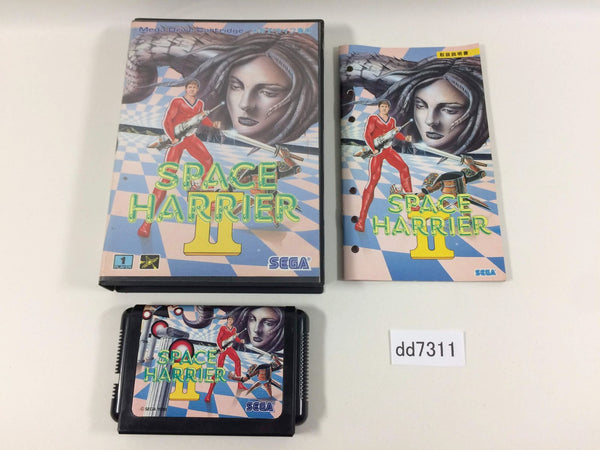 dd7311 Space Harrier II BOXED Mega Drive Genesis Japan