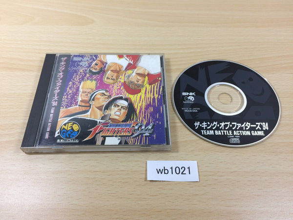 wb1021 King of Fighters 94 NEO GEO CD Japan