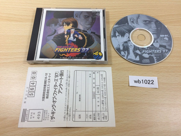 wb1022 King of Fighters 97 NEO GEO CD Japan