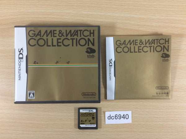 dc6940 GAME & WATCH COLLECTION BOXED Nintendo DS Japan