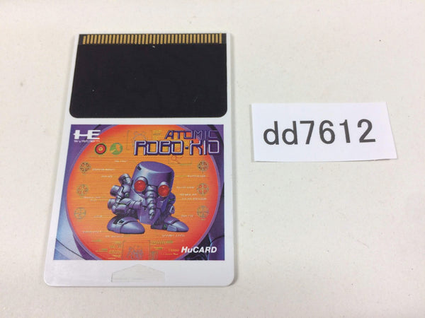 dd7612 Atomic Robo-Kid Special PC Engine Japan