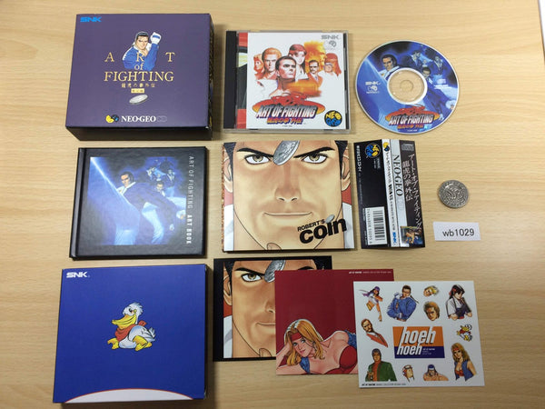 wb1029 The Art Of Fighting 3 Limited Edition NEO GEO CD Japan