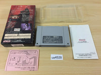 ua4528 Clock Tower BOXED SNES Super Famicom Japan