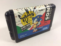 dd6839 Sonic The Hedgehog BOXED Mega Drive Genesis Japan