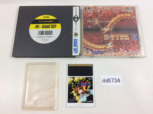 dd6734 R-Type 2 BOXED PC Engine Japan