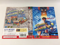 dd8248 Street Fighter II' Plus Champion Edition BOXED Mega Drive Genesis Japan