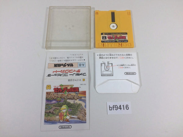 bf9416 The Legend Of Zelda 1 Famicom Disk Japan