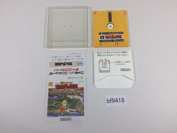 bf9418 The Legend Of Zelda 1 Famicom Disk Japan