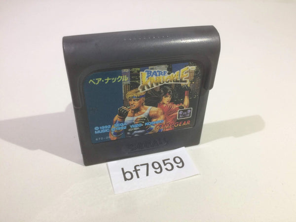 bf7959 Bare Knuckle Ikari no Tekken Sega Game Gear Japan