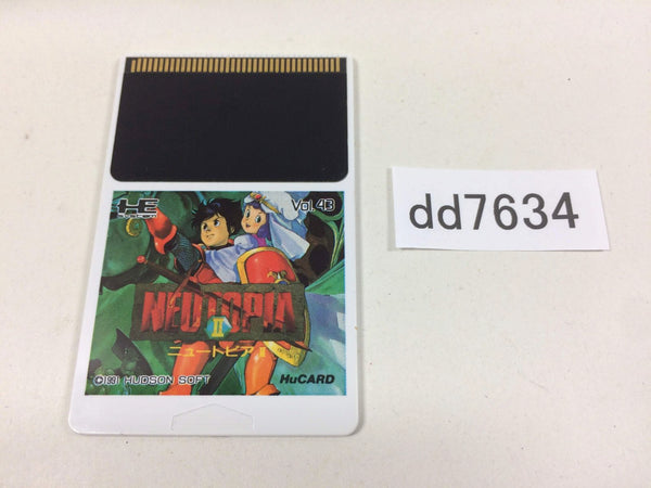 dd7634 Neutopia 2 PC Engine Japan
