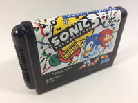 dd6841 Sonic The Hedgehog 3 BOXED Mega Drive Genesis Japan