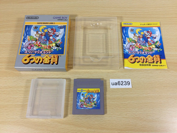 ua6239 Super Mario Land 2 6 Golden Coins BOXED GameBoy Game Boy Japan
