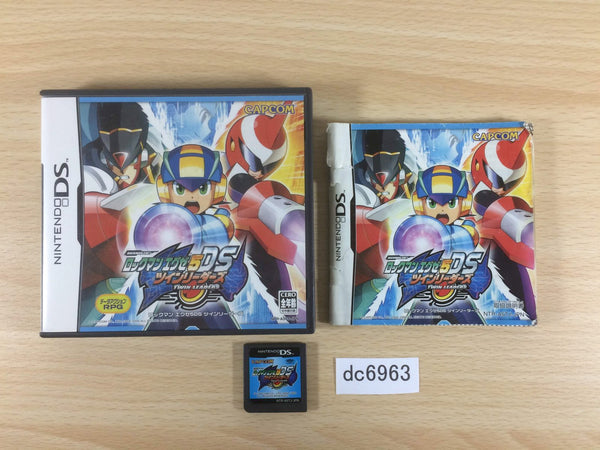 dc6963 Rockman MegaMan Mega Man Battle Network 5 BOXED Nintendo DS Japan