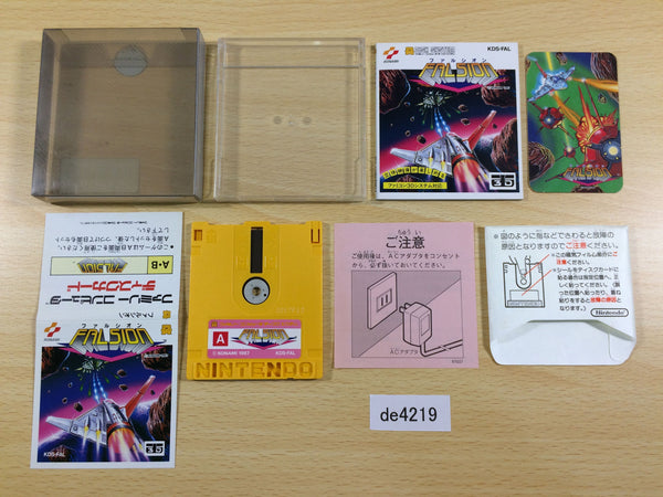 de4219 Falsion BOXED Famicom Disk Japan