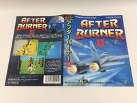 dd7322 After Burner II BOXED Mega Drive Genesis Japan