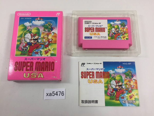 xa5476 Super Mario USA BOXED NES Famicom Japan