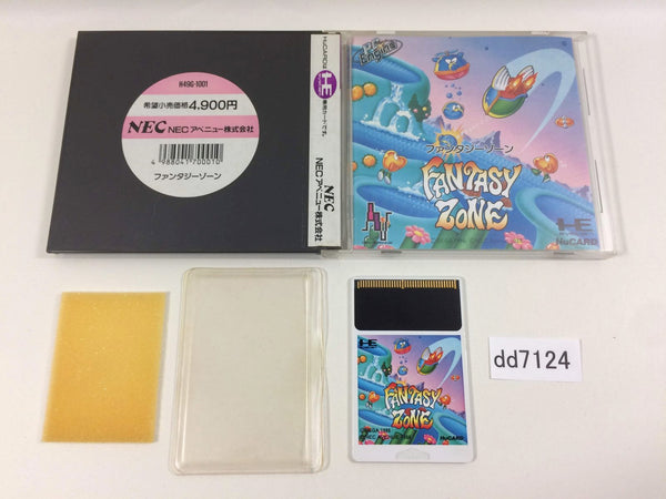 dd7124 Fantasy Zone BOXED PC Engine Japan