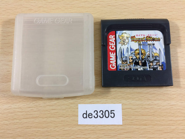 de3305 Royal Stone Hirakareshi Toki no Tobira Sega Game Gear Japan