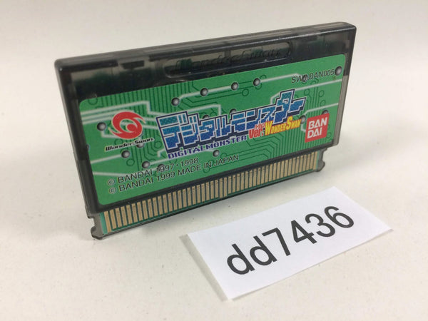 dd7436 Digital Monster Ver.WonderSwan Wonder Swan Bandai Japan