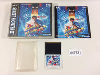 dd9731 Street Fighter II Dash BOXED PC Engine Japan