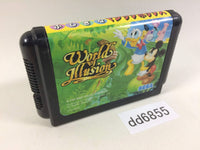 dd6855 World of Illusion I Love Mickey & Donald Mega Drive Genesis Japan