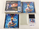dd8113 Street Fighter II Dash BOXED PC Engine Japan