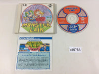 dd6768 Monster Lair Wonderboy III CD ROM 2 PC Engine Japan