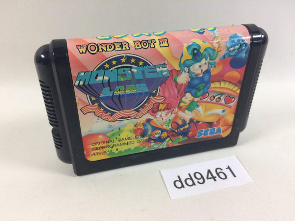 dd9461 Wonder Boy III Monster Lair Mega Drive Genesis Japan