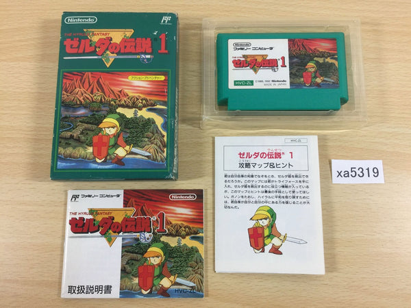 xa5319 The Legend of Zelda 1 BOXED NES Famicom Japan