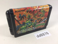 dd6876 Teenage Mutant Ninja Turtles Return of Shredder Mega Drive Genesis Japan