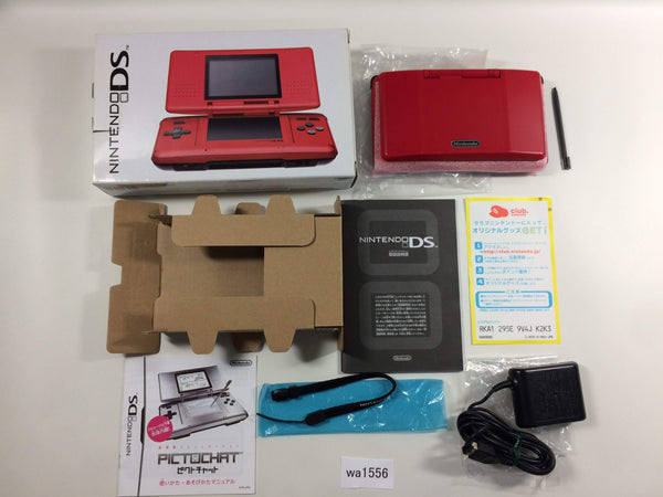 wa1556 Nintendo DS RED BOXED Console Japan