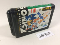 dd6880 Sonic The Hedgehog 2 Mega Drive Genesis Japan