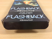 ua3078 Flashback The Quest for Identity BOXED SNES Super Famicom Japan