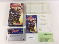 dd8024 Fighter's History BOXED SNES Super Famicom Japan