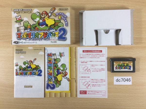 dc7046 Super Mario Advance 2 Bros. World BOXED GameBoy Advance Japan