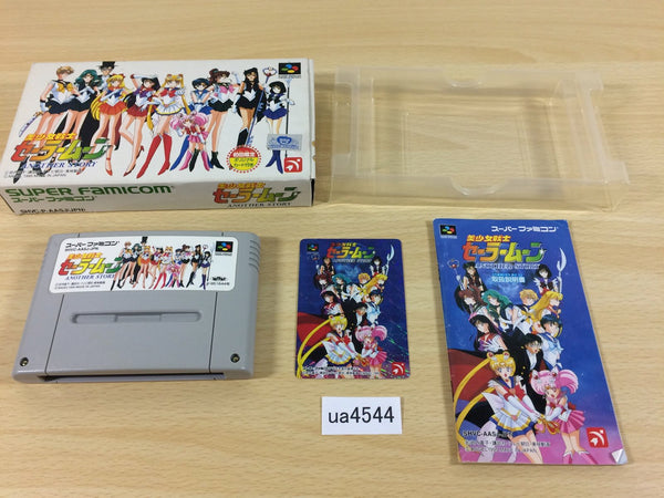 ua4544 Sailor Moon Another Story BOXED SNES Super Famicom Japan