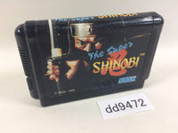 dd9472 Super Shinobi, The Mega Drive Genesis Japan