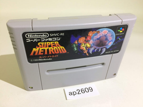 ap2609 Super Metroid SNES Super Famicom Japan