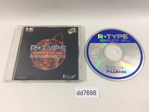 dd7698 R-Type Complete CD SUPER CD ROM 2 PC Engine Japan