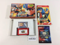 dd8382 Rockman Exe 4 Tournament Red Sun Megaman BOXED GameBoy Advance Japan