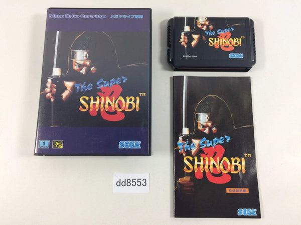dd8553 The Super Shinobi BOXED Mega Drive Genesis Japan