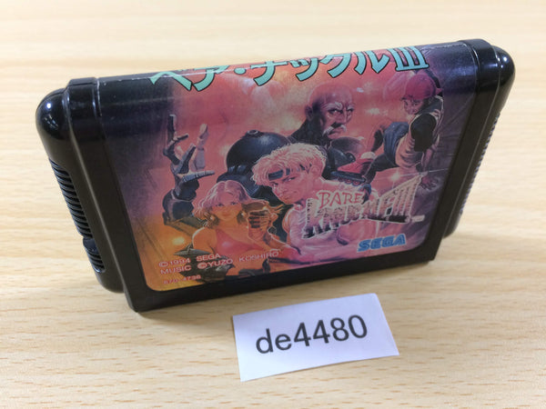 de4480 Bare Knuckle III Mega Drive Genesis Japan