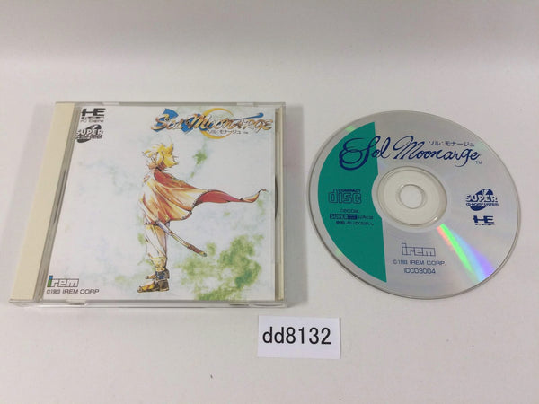 dd8132 Sol Moonarge SUPER CD ROM 2 PC Engine Japan