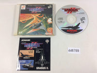dd6789 Gradius II Gofer no Yabou SUPER CD ROM 2 PC Engine Japan