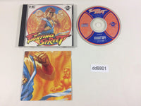 dd8801 Fighting Street CD ROM 2 PC Engine Japan